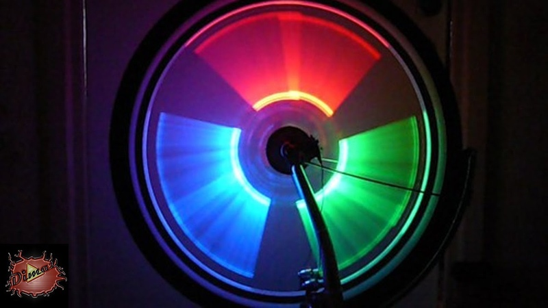 Подсветка на велосипед своими руками Backlight on the bike with your own hands