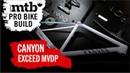 Dreambuild New 2021 Canyon Exceed CFR Team Mathieu van der Poel Pro Bike Build