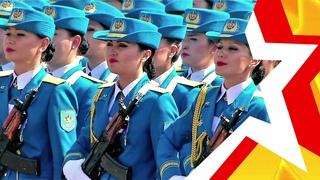 ЖЕНСКИЕ ВОЙСКА КАЗАХСТАНА ★ Военный парад в Астане ★ WOMEN'S TROOPS OF KAZAKHSTAN ★Military parade
