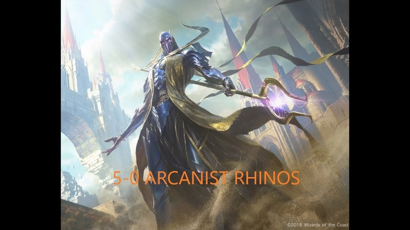 MODERN DREADHORDE ARCANIST RHINOS TROPHY WITH ARCANIST FOR THE FIRST TIME