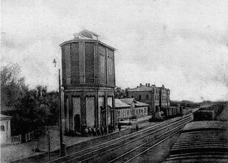 Старые фото станции трубецкая