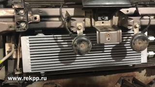 Установка дополнительного радиатора охлаждения вариатора Пежо 4007