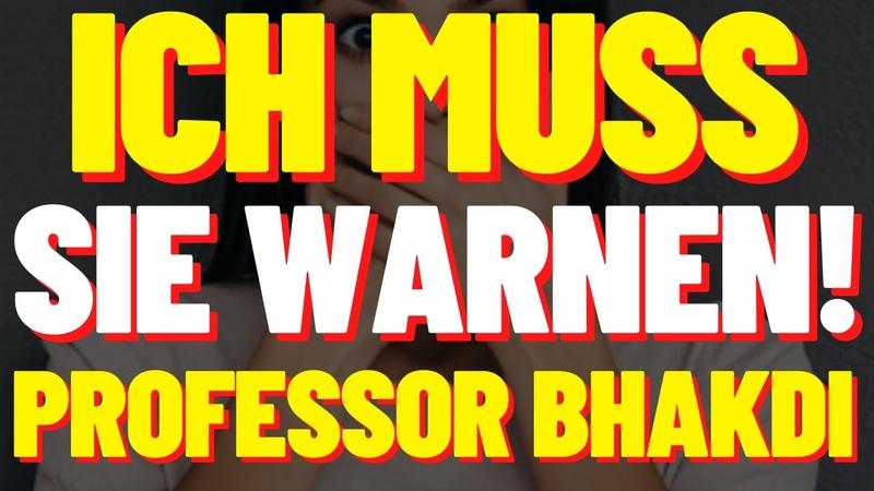 PROFESSOR BHAKDI ICH MUSS SIE WARNEN! - PROFESSOR BHAKDI MIT AUSDRÜCKLICHER WARNUNG (21.08.2020)