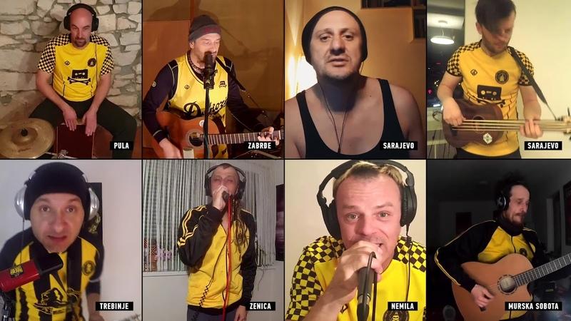 Dubioza Kolektiv Autopilot feat Dino Šaran Letu Štuke Live at Quarantine Show