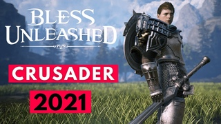 BLESS UNLEASHED PC Crusader Class First Impressions & Gameplay! (NEW MMORPG 2021 F2P PC/PS5/XBOX)