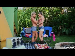 Brianna Ray and Alana Luv - Camp Coochie [Lesbian]