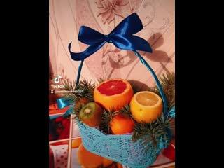 фруктовые корзиночки