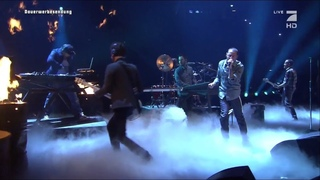 Linkin Park Performs 'Burn it Down' at TV Autoball EM, Germany 2012