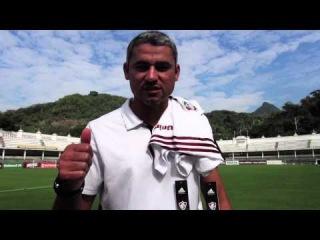 Mensagem da equipe de futebol para Fred na Seleção - 3 de julho de 2014