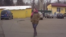 наглая хохлушка в Москве