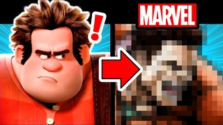 Drawing WRECK-IT-RALPH in a MARVEL STYLE? (will he just look like the Hulk???)