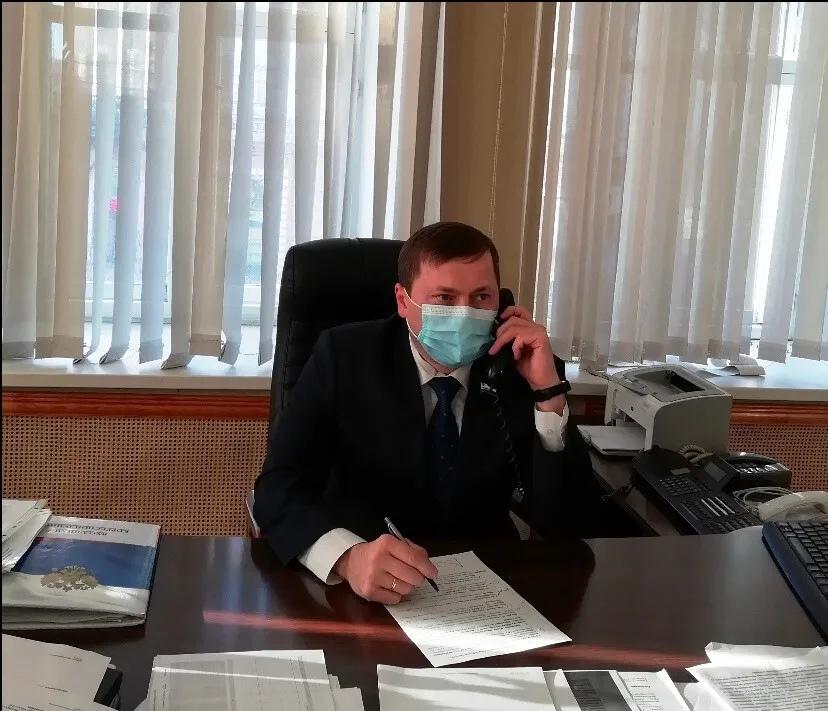 Петровчане стали участниками приёма, который провёл куратор района