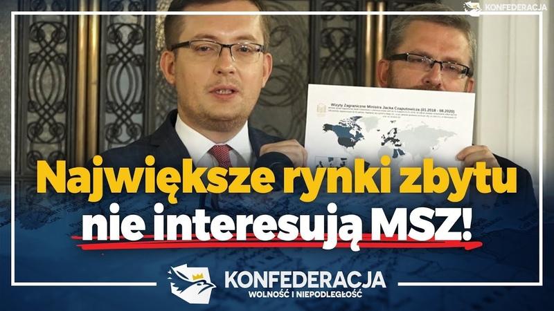 Funkcjonariusze MSZ nie kierują się polskim interesem narodowym