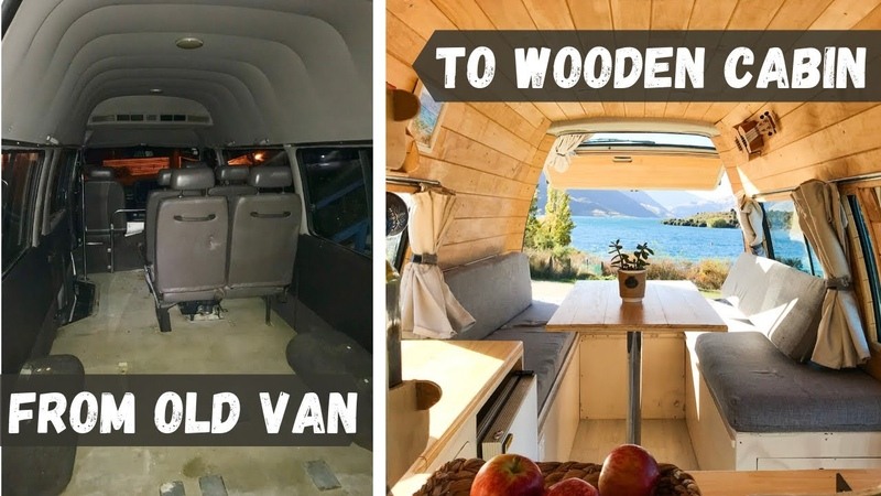 VAN TOUR DIY Stunning Converted TOYOTA HIACE Campervan