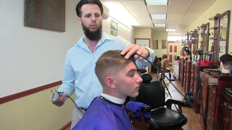 Barber Tutorial Full Men's Hair Cutting Class with MC Barber