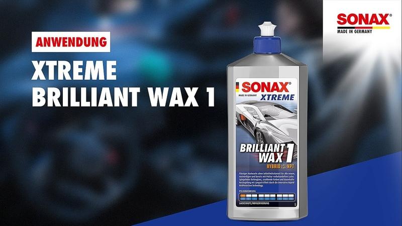 Anwendung SONAX XTREME BrilliantWax 1 Hybrid NPT