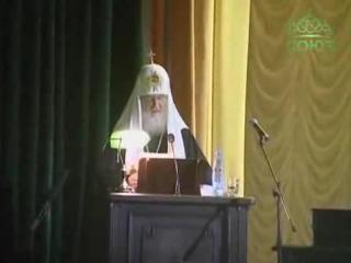 Патриарший визит в Троице-Сергиевую лавру