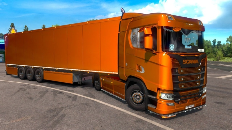 Euro Truck Simulator 2 18 ПРЕОБРАЖЕНИЕ МОЕЙ SCANIA