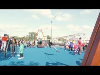 В Коркино открылась самая большая в Челябинской области детская площадка