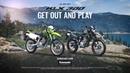 All-New 2021 KLX300 Dual-Sport Motorcycle Product Walk Around