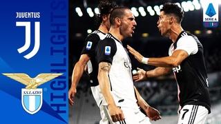 Juventus 2-1 Lazio | Ronaldo Bags a Brace to Put Juve 8 Points Clear | Serie A TIM