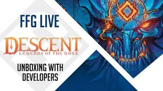 Descent: Legends of the Dark Unboxing