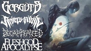 Важные Дэт-метал альбомы. Ulcerate, Fallujah, Rivers of Nihil, Whitechapel, Gorguts / Death Metal