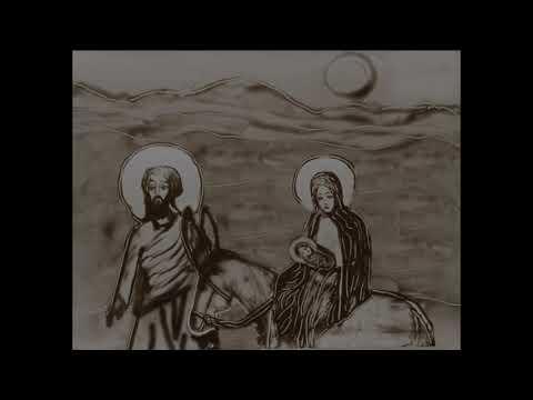Песочный мультфильм Рождество Христово пос Саблино 2019 г