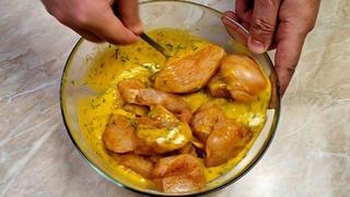 KFC Отдыхают ! Курица в Лимонно-яичном соусе Вкусно и сочно !!!