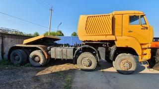 Новый проект! Самый мощный российский грузовик КамАЗ-65228.