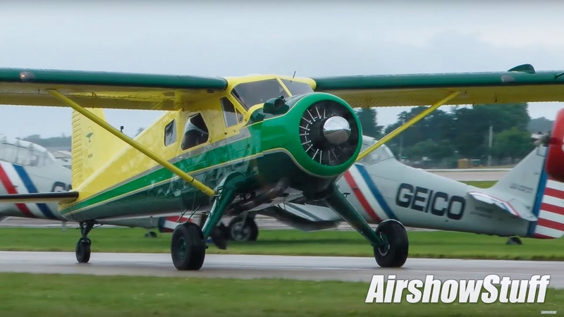 Arrivals and Departures Thursday Runway 36 EAA AirVenture Oshkosh 2016