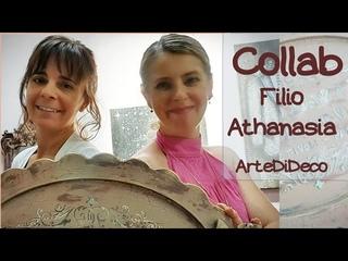 DIY Παλαιώσεις και συμβουλές! Συνεργασία καναλιών! Aging tips&tricks! Channels Collab ArteDiDeco[CC]