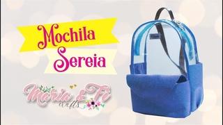 DIY Mochila Sereia transparentona