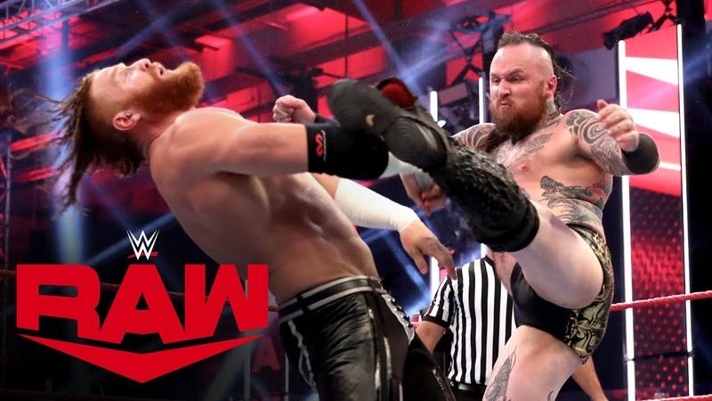 The «Kingslayer» Aleister Black vs. Murphy Raw, July 13, 2020