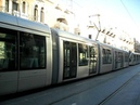 Израиль Иерусалимский трамвай на ул. Яффа