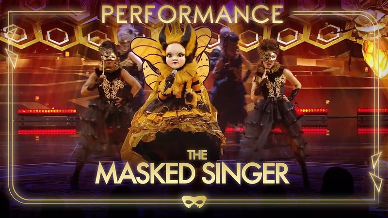 Queen Bee Performs 'Somebody Else's Guy' By Jocelyn Brown Season 1 Final The Masked Singer UK