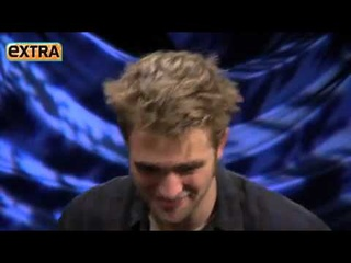 Breaking Dawn P1 Press Junket - Robert Pattinson on Extra Interview