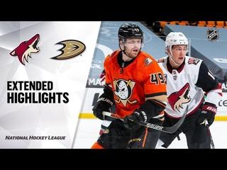 Arizona Coyotes vs Anaheim Ducks | , 2021 | Game Highlights | NHL 2021 | Обзор матча