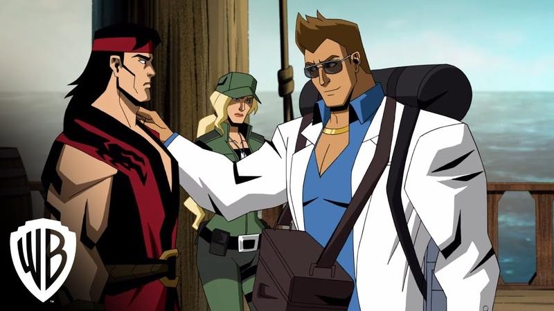 Mortal Kombat Legends Scorpion's Revenge Meet Johnny Cage clip Warner Bros Entertainment