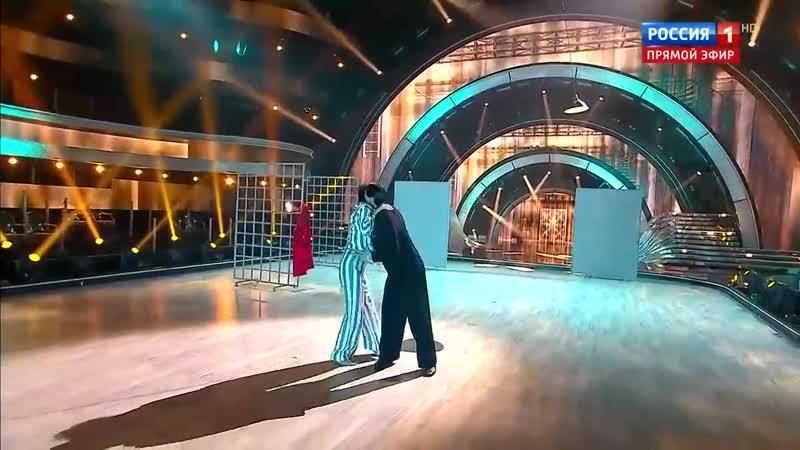Эмоциональный фьюжн Варнавы и Тагинцева под музыку из Списка Шиндлера Танцы со звездами 2020
