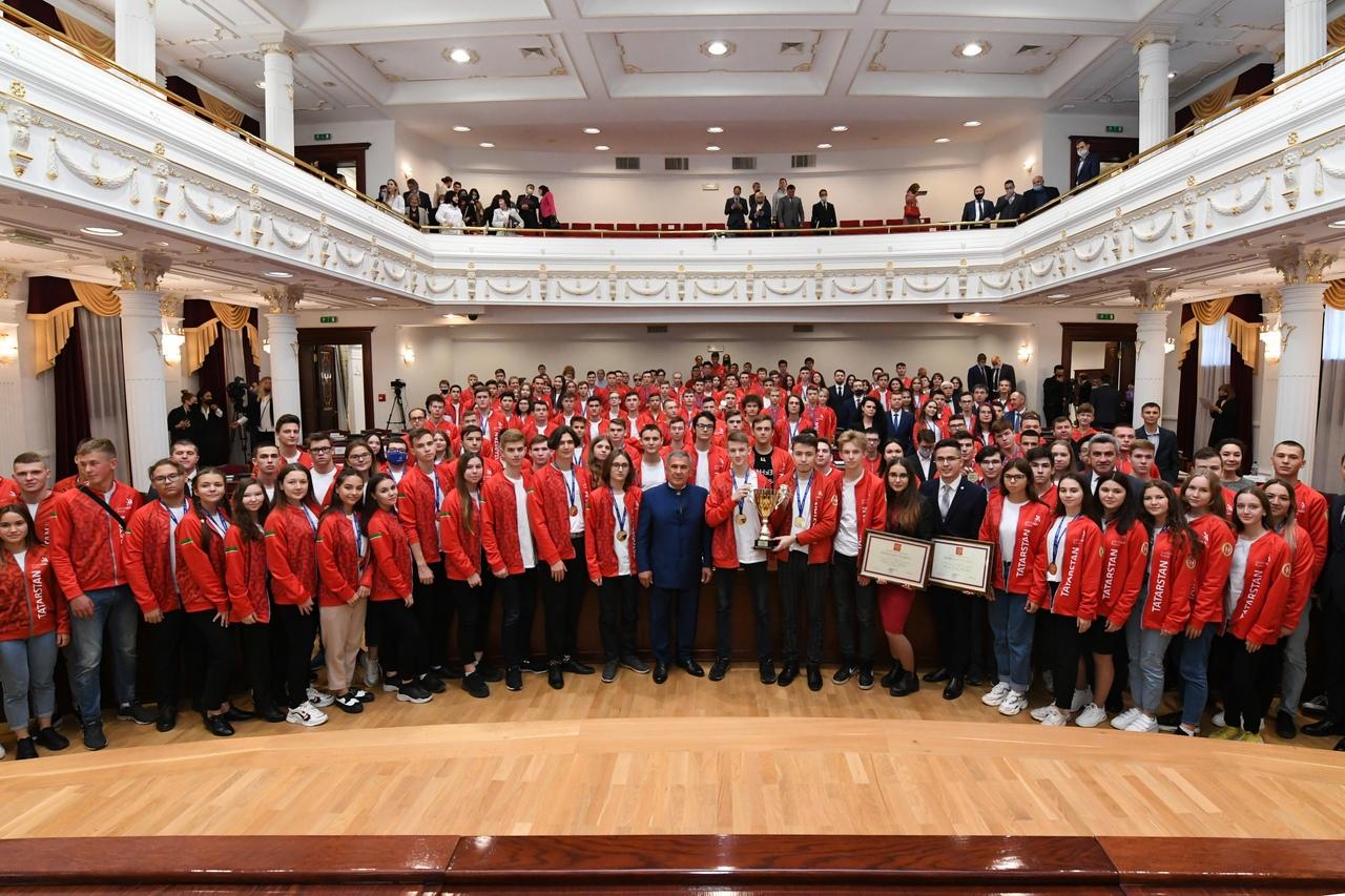 Награждение победителей и призеров финала национального чемпионата Worldskills Russia–2020