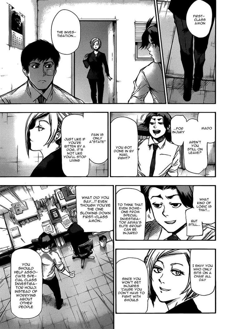 Tokyo Ghoul, Vol. 11 Chapter 109 Hanged Man, image #11