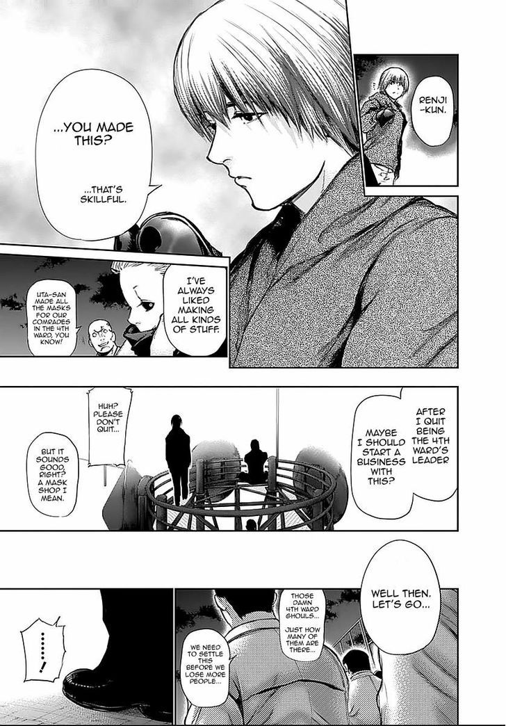 Tokyo Ghoul, Vol. 12 Chapter 112 Lights Out, image #16