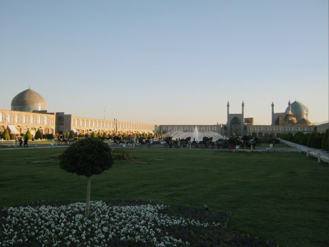 площадь имама Хомейни в Исфахане