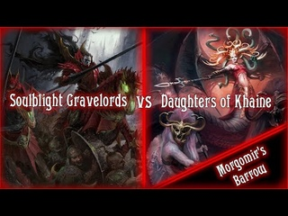 Age of Sigmar Battle Report: Soulblight Gravelords vs Daughters of Khaine