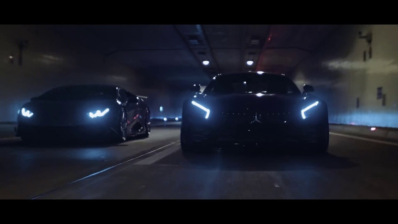 AMG GT R vs HURACAN RACING COUGHT BY POLICE