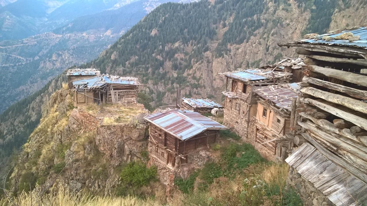 заброшенное пастушеское село Модут