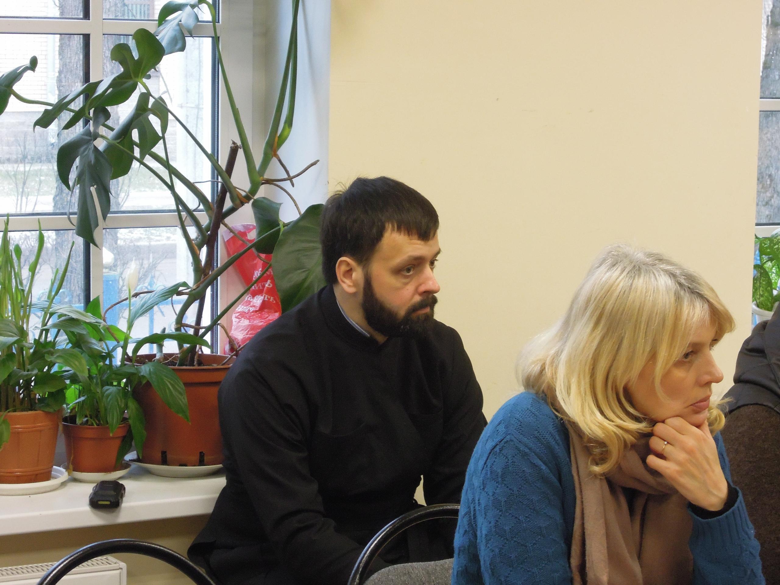 Первого февраля сего года, в Духовно-просветительском центре Покровского собора, руководитель отдела по церковной благотворительности и социальному служению Гатчинской епархии о.