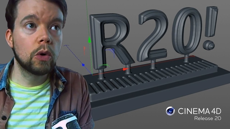 Mind Blowing New Features in Cinema 4D R20 Greyscalegorilla