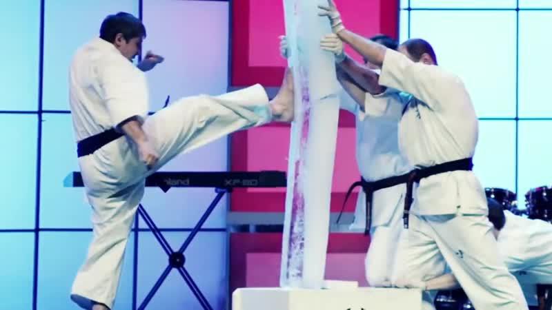 Tameshiwari Kyokushinkai karate